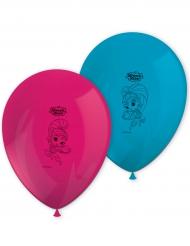 Shimer & Shine™-Luftballons Set Partyzubehör 8 Stück bunt