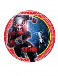 Ant-Man™-Pappteller Kindergeburtstag Tischzubehör 8 Stück bunt 23cm