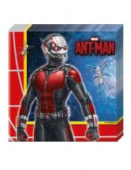 Ant-Man™-Servietten Partyzubehör Lizenz 20 Stück bunt 33x33cm