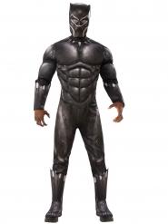 Black Panther™-Lizenzkostüm für Herren schwarz