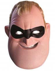 Die Unglaublichen™-Mr. Incredible Maske Lizenzprodukt hautfarben