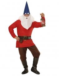 Märchenhafter Zwerg Kostüm für Herren bunt