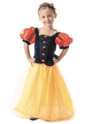 Märchenhaftes Prinzessinnen-Kostüm für Kinder bunt