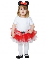 Minnie Maus™-Petticoat für Kleinkinder Karneval rot