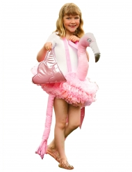 Flamingo Kostüm für Kinder rosa