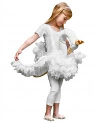 Schwanen Kostüm für Mädchen weiß