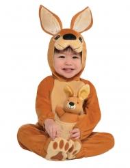 Känguru Tierkostüm für Babys braun