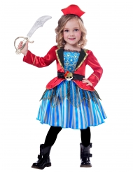 Prachtvolle Piraten-Verkleidung für Kinder bunt
