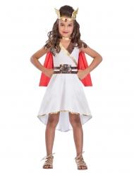 Göttinnen Kostüm für Mâdchen weiß-rot