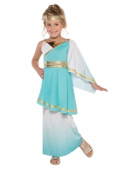 Venus Göttinnen Kostüm für Kinder türkis