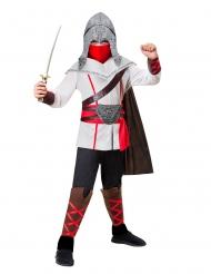 Kämpferisches Ninja-Ritterkostüm für Kinder bunt