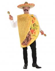 Lustige Tacos-Verkleidung Mexikanisches-Kostüm bunt