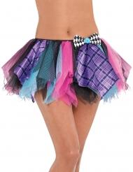 Hutmacher-Petticoat Kostüm-Accessoire für Damen bunt
