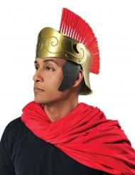 Römer-Helm Gladiator für Herren Kopfbedeckung gold-rot