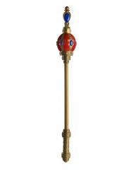 Königszepter Kostüm-Accessoire bunt 81cm