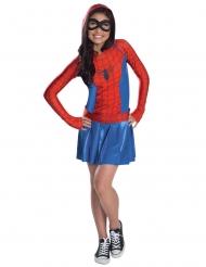 Spider Girl™ Lizenzkostüm für Mädchen blau-rot