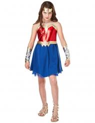 Wonder Woman™-Justice League Mädchenkostüm rot-blau-gold