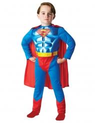 Superman™-Kostüm für Jungen DC-Superheld blau-rot-gelb