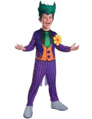 Joker™-Halloween-Kostüm für Kinder Deluxe Lizenz violett-grün