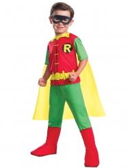 Superheld Robin™-Kostüm für Jungen DC Comics™ grün-gelb-rot