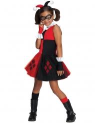 Harley Quinn™ Mädchenkostüm schwarz-rot