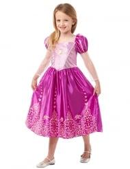 Rapunzel Disney™-Lizenzkostüm für Mädchen rosa-gold