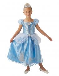Cinderella Disney™-Kostüm für Mädchen blau-silber