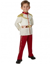 Prinz Charming™-Kostüm für Jungen Disney™-Lizenz weiss-rot-gold