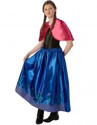 Die Eiskönigin™-Prinzessin Anna™-Kinderkostüm blau-rot-schwarz