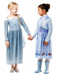 Frozen™-Elsa Kinderkostüm Disney-Lizenz blau-weiss