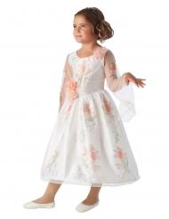 Belle™-Kostüm für Mädchen Disney™-Lizenz weiss-rosa