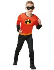 Die Unglaublichen™-Flash-Kostüm für Jungen schwarz-rot-gelb