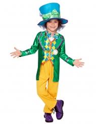 Verrückter Hutmacher™-Jungenkostüm Lizenz Disney™-Verkleidung bunt