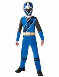 Ninja Steel™ Power Rangers Kinderkostüm Lizenz blau-schwarz