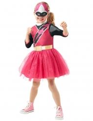 Ninja Steel™-Power Rangers Mädchenkostüm Lizenz rosa
