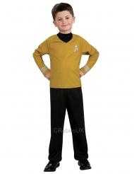 Captain Kirk™-Kinderkostüm Lizenz-Verkleidung schwarz-gelb