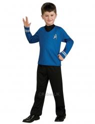 MR. Spock™-Star Trek Kinderkostüm Lizenz-Verkleidung blau-schwarz
