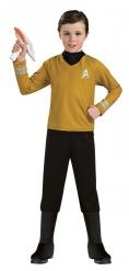 Captain Kirk™-Star Trek Kostüm für Kinder schwarz-gold