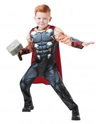 Thor™-Kostüm für Kinder mit Hammer Lizenz grau-rot