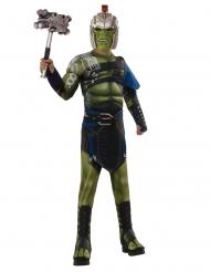 Hulk™-Kostüm Für Kinder Marvel Lizenz-Verkleidung grün-grau