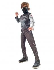 Wintersoldat-Kostüm für Kinder Lizenz Avengers™ schwarz-grau