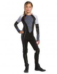 Katniss Everdeen™-Lizenzkostüm Hunger Games™ für Mädchen schwarz