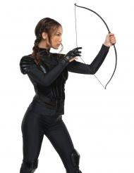 Katniss Everdeen™-Handschuh Kostümzubehör Hunger Games schwarz
