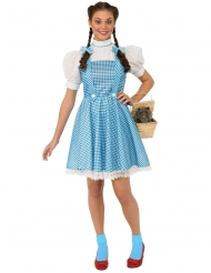Dorothy™-Der Zauberer von Oz Damenkostüm weiss-blau