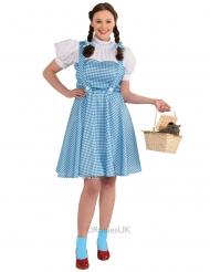 Der Zauberer von Oz™-Dorothy Damenkostüm Lizenz blau-weiss