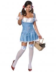 Dorothy Gale™-Zauberer von Oz Damenkostüm Blau-weiss