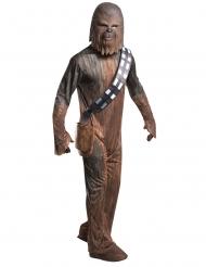 Chewbacca™-Kostüm Lizenz-Verkleidung Star Wars braun