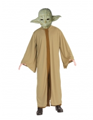 Yoda™-Star Wars-Kostüm für Erwachsene Lizenz grün-braun
