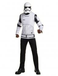 Stormtrooper™-Kostüm-Set Maske und Shirt für Erwachsene weiss-schwarz