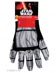 Star Wars™ Captain Phasma Handschuhe Accessoire silber-schwarz